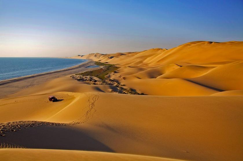 Mer et désert de Namibie, circuit guidé