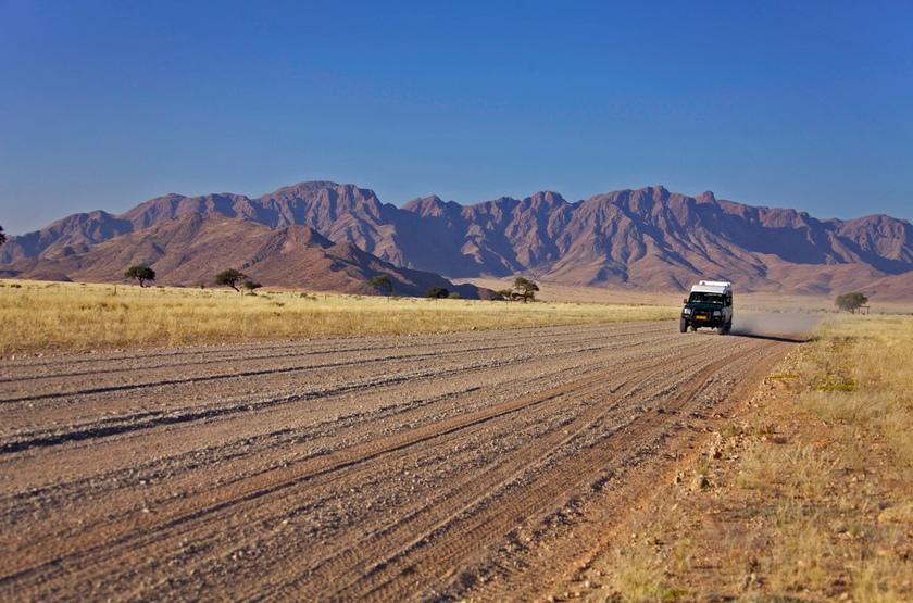 Circuit guidé en Namibie