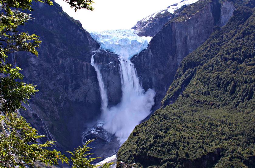 Glacier Puyuhuapi, Chili