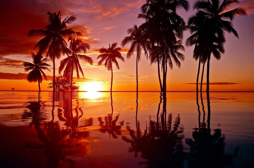 Sunset, Anjajavy Hotel, Madagascar
