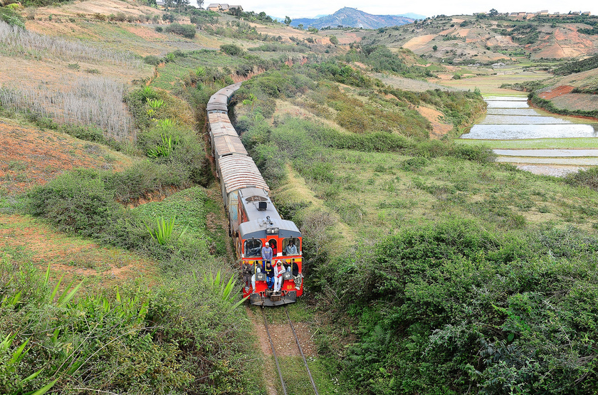 TRain à Maracana, Madagascar