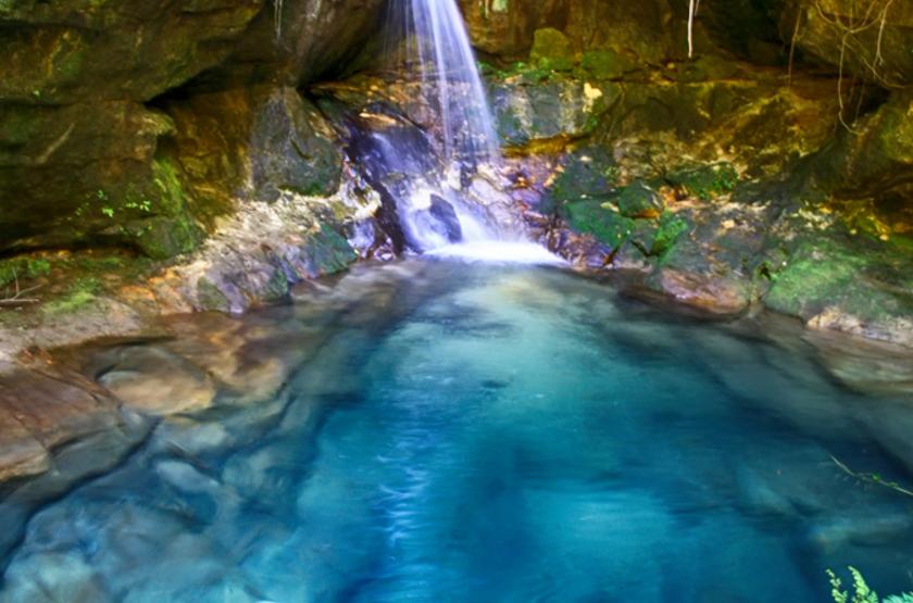Parc d'Isalo, piscine naturelle, Madagascar