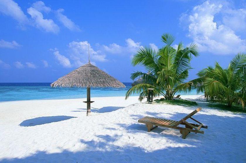 Plage de l'Island Paradise, Maldives