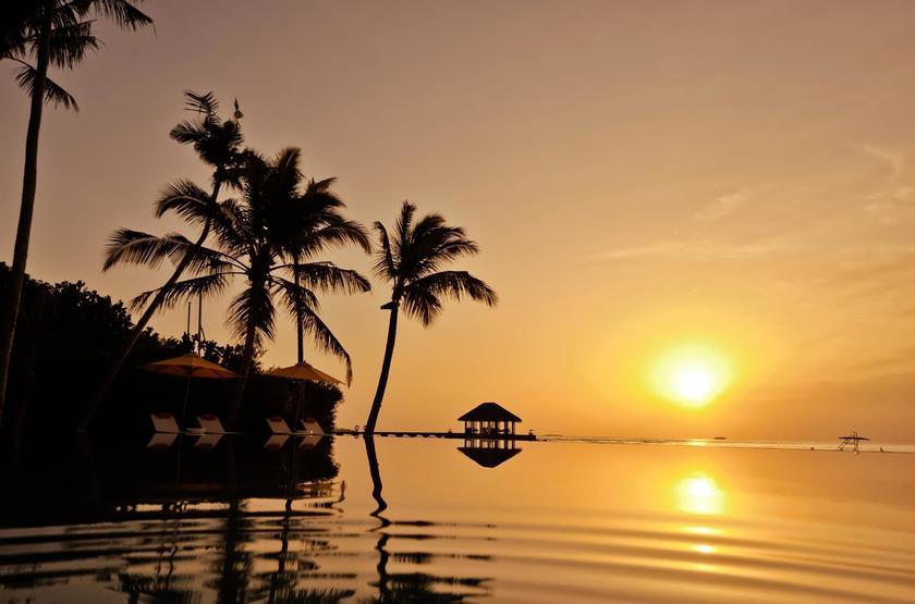 Piscine sunset slideshow