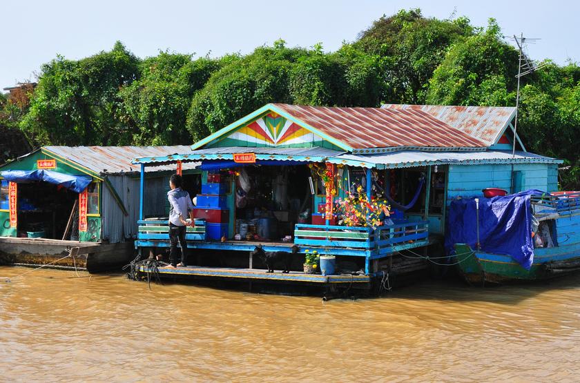 Tonle Sap, Cambodge