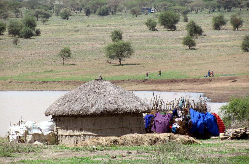 Hute Masai, Tanzanie
