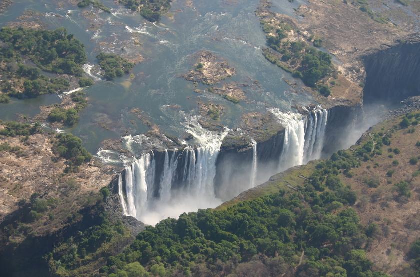 Zambie, Chutes Victoria