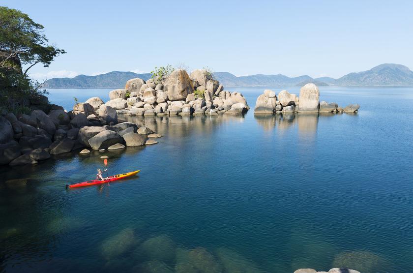 Séjour à Mombo Island Camp, lac Malawi