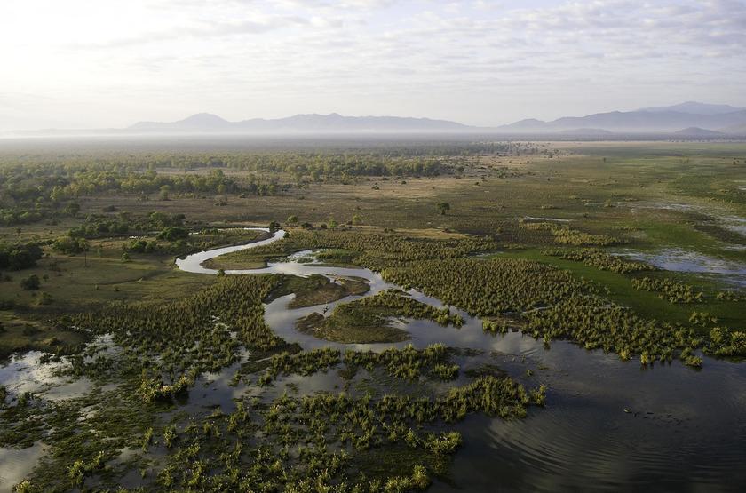 Shine River, Liwonde, Malawi