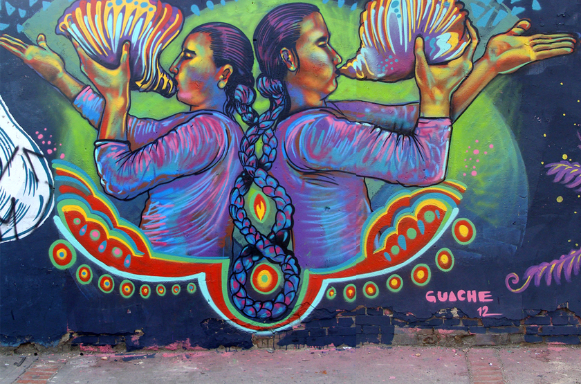 Street Art, Bogota, Colombie