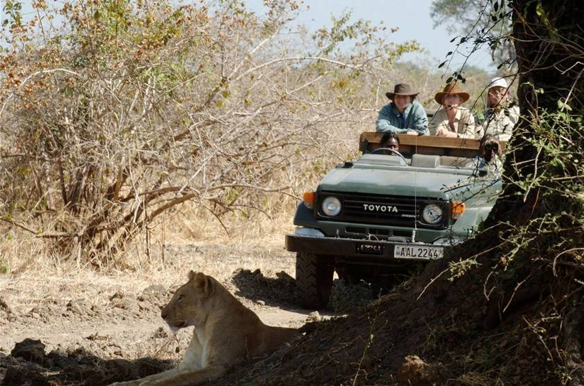 Safari en 4x4 à Chinzombo, South Luangwa, Zambie