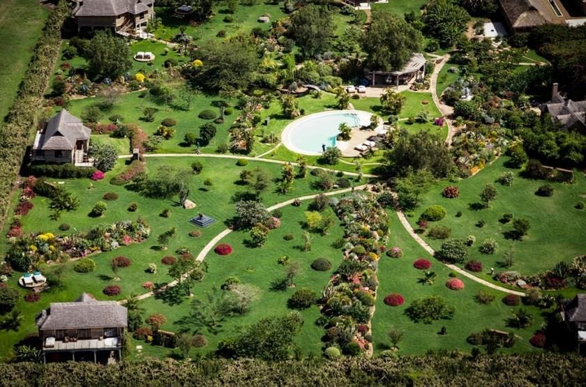Segera vue aérienne, Kenya