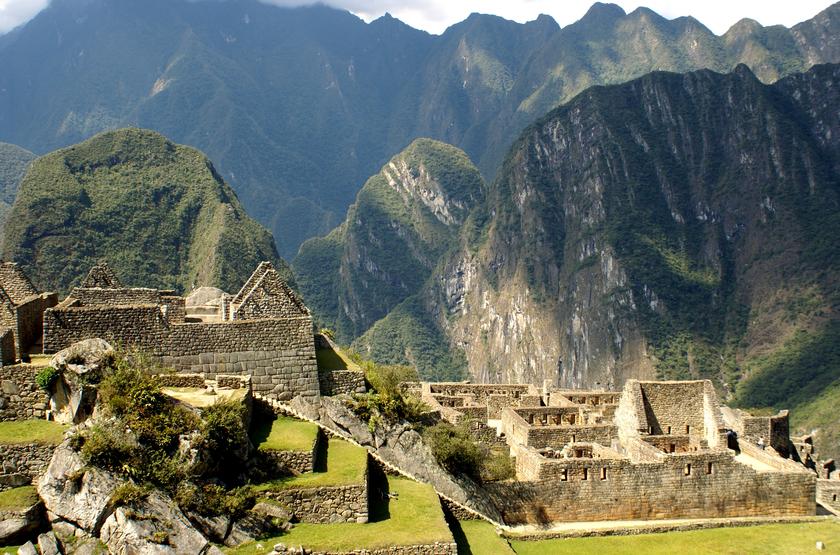 Voyage au Pérou, Macchu Pichu