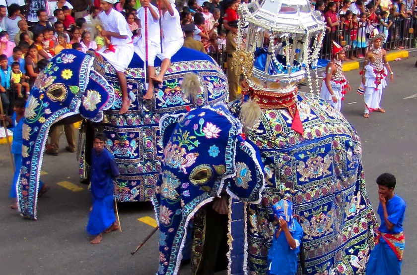 Fête de Perahera à Kandy, Sri Lanka