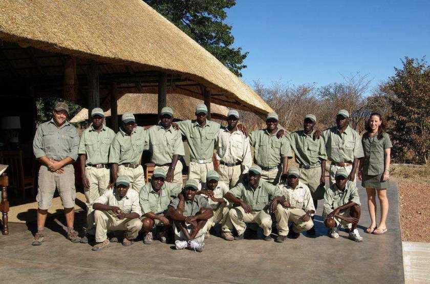Camp Hwange, Parc Hwange, Zimbabwe