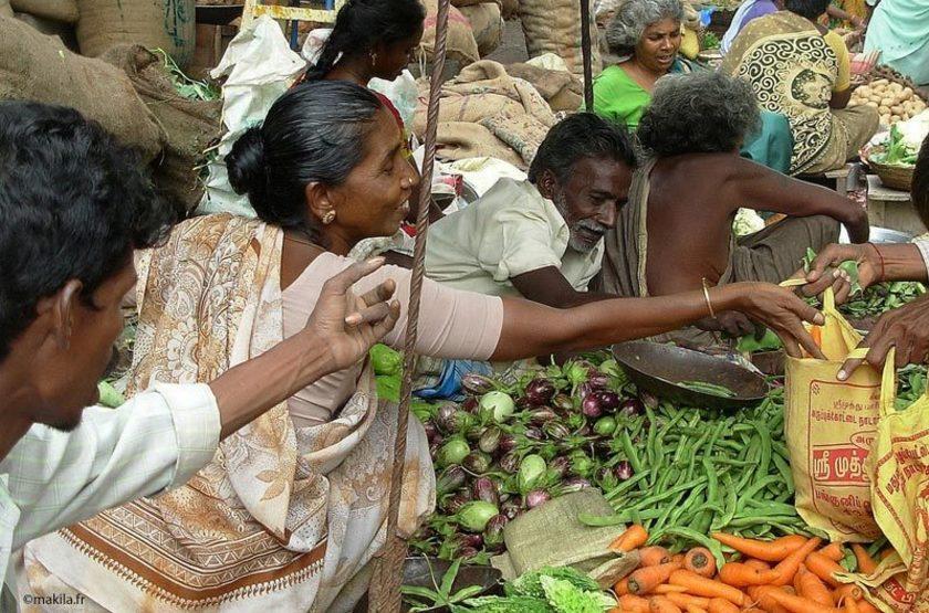 Madurai, Inde du Sud