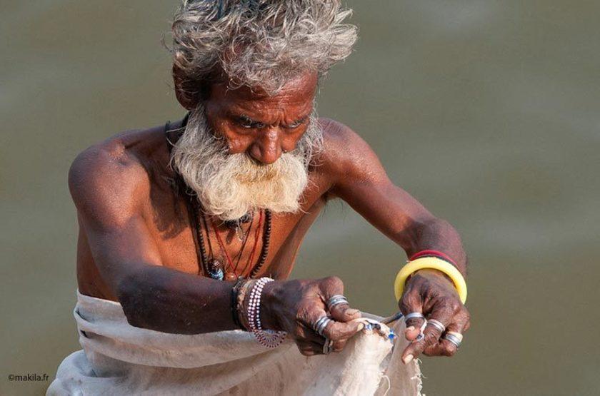 Benares, Vallée du Gange, Varanasi, Inde