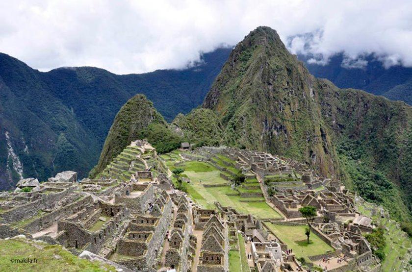 Site du Macchu Pichu, Pérou
