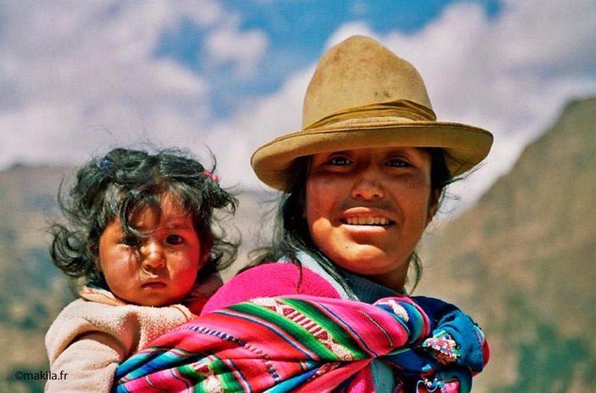 Voyage au Pérou, Péruvienne à Pisac