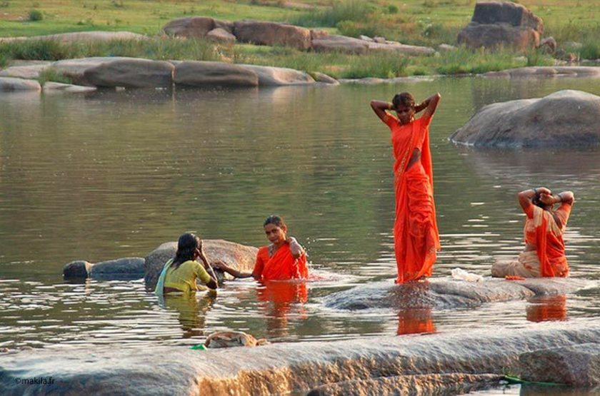 Rivière de Tungabradah, Inde