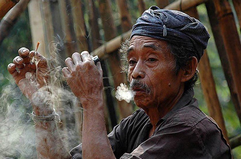 Homme Badui, Java, Indonésie