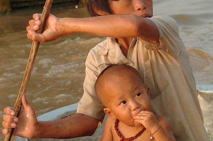 Lac Tonle, Cambodge