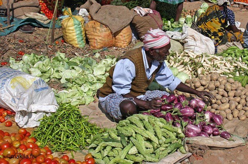 Inde du Sud, marché