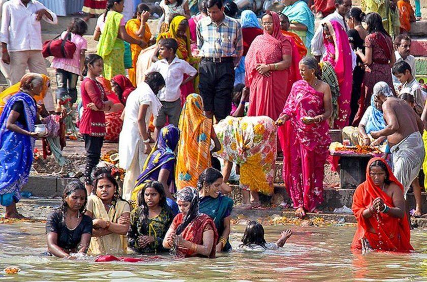 Sur le Gange, Inde