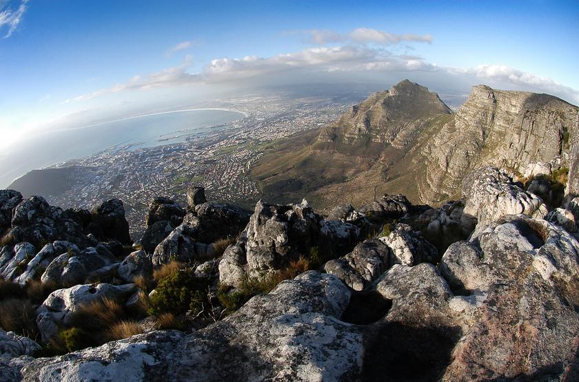 Cape Town, Afrique du Sud, Montagne de la Table