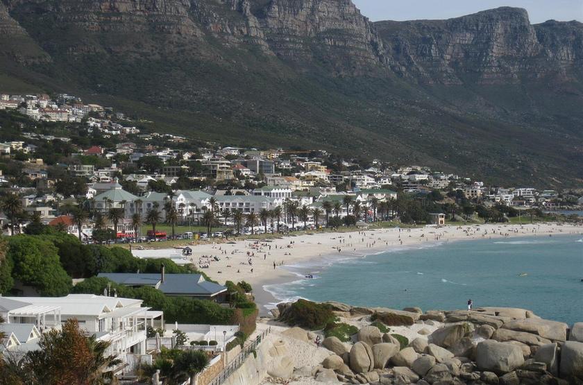 Cape Town, Afrique du Sud, plage