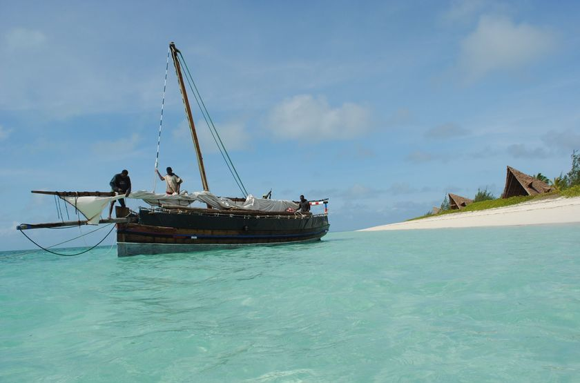 Bateau traditionnel, Fanjove, Tanzanie