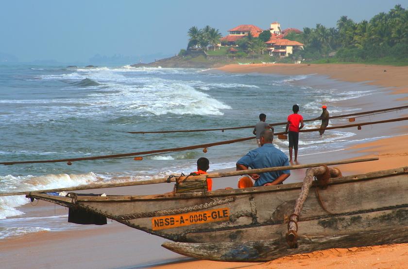 Plage du Sri Lanka, Beruwela