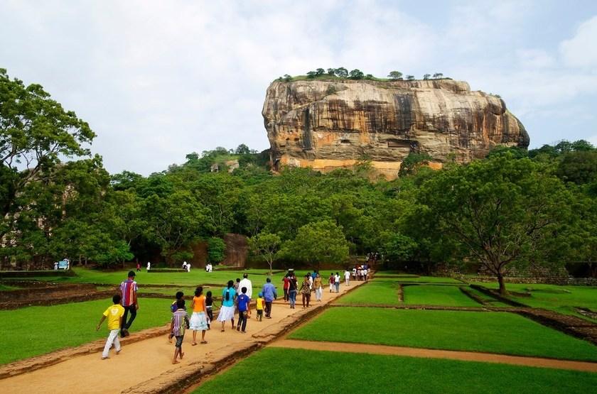 Sigiriya, Rocher du Lion, Sri Lanka