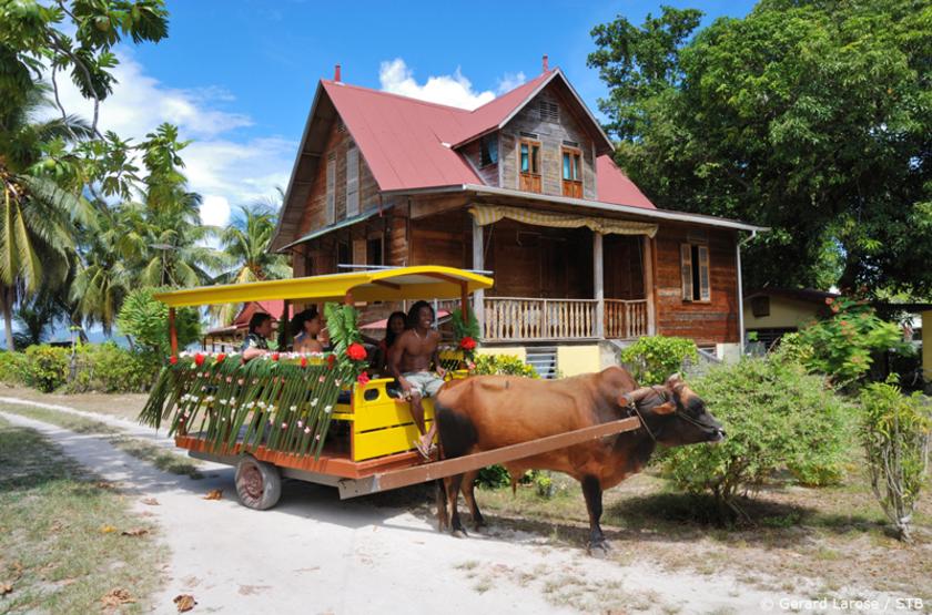 Maison typique seychelloise