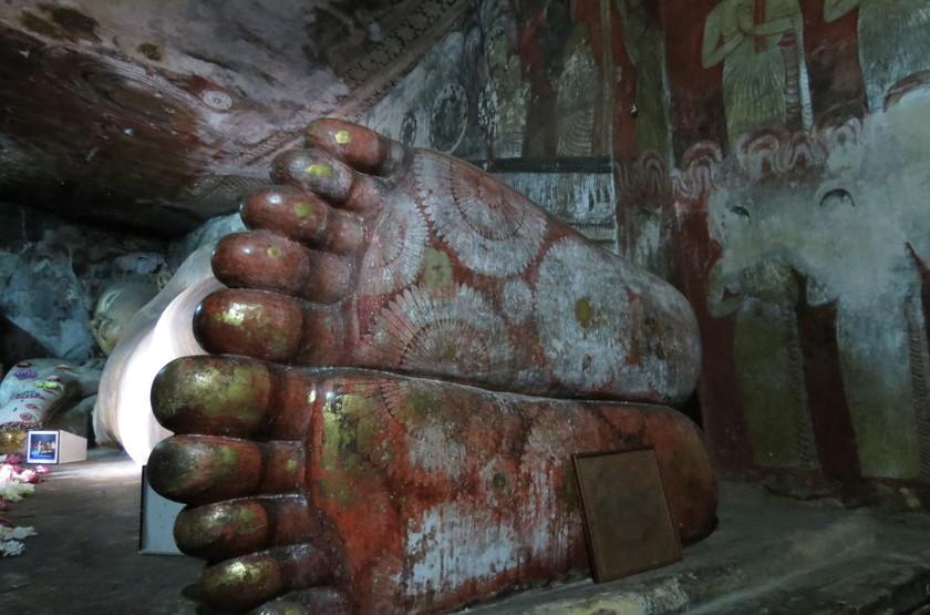 Bouddha coucher, Sri Lanka