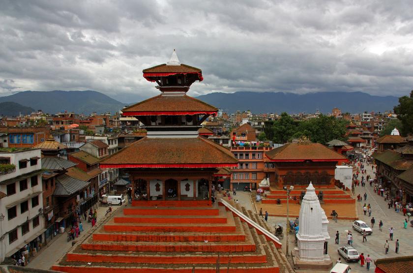 Dubar Sqaure, Katmandou, Népal
