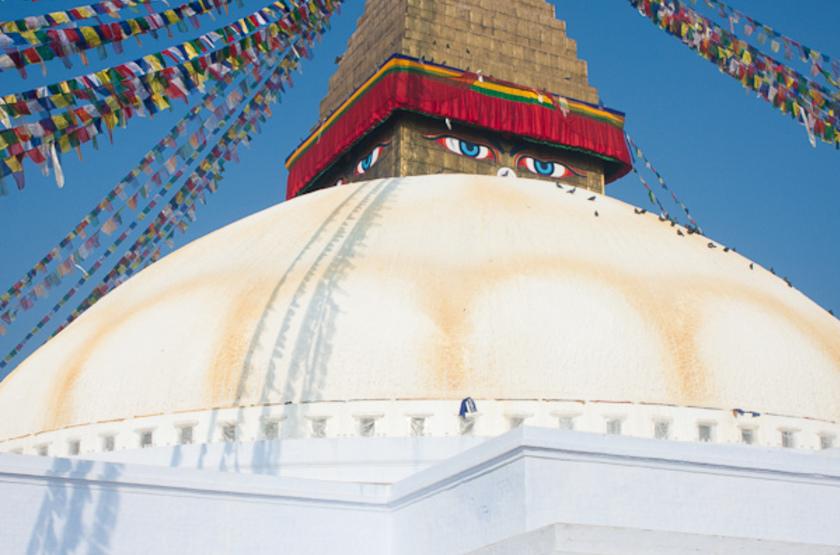 Bodnath, Népal, Katmandou