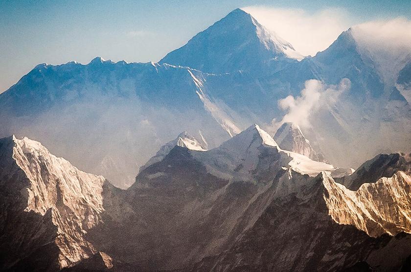 Phokara, vue sur l'Annapurna, Népal