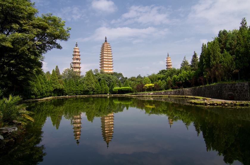 Temples des Trois Pagodes, Yunnan