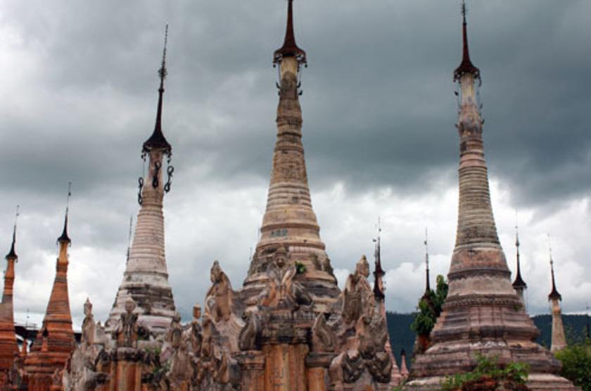 Site d'Indien, Birmanie
