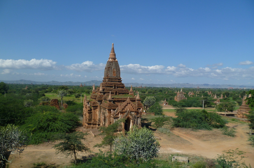 Pagodes de Bagan, Birmanie