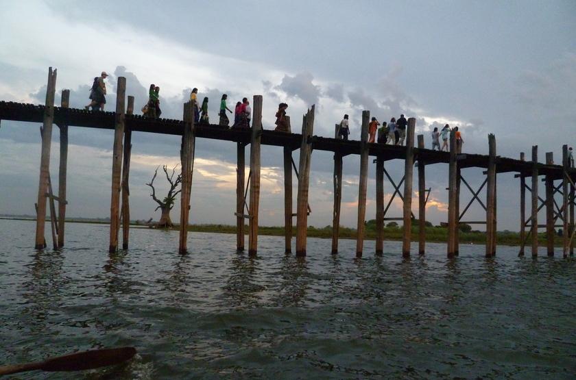 Pont UBein, Birmanie