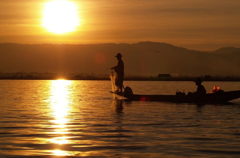 Voyage de Noces en Birmanie, Lac Inle