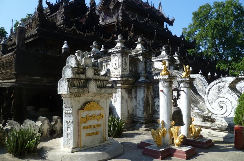 Pagode Swaysandaw, Mandalay, Birmanie