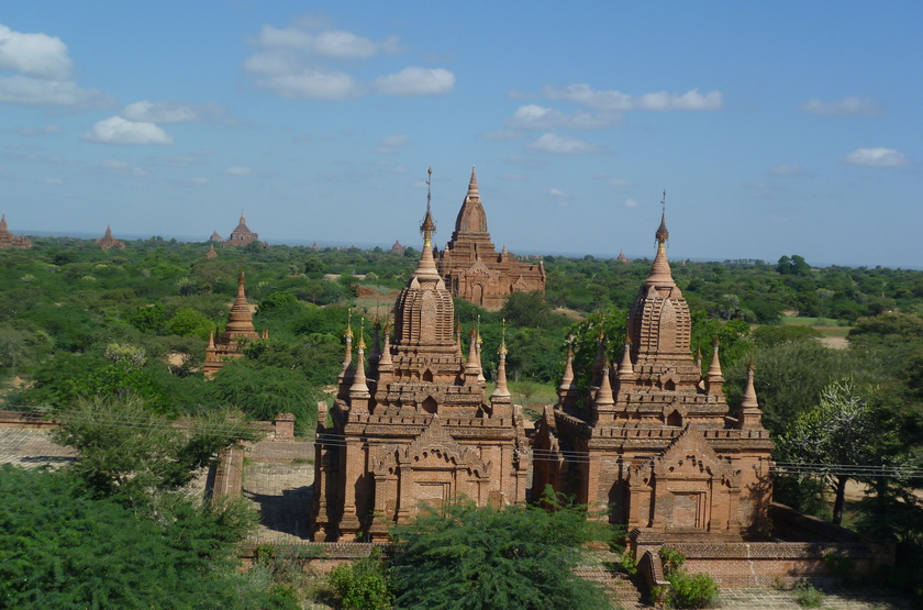 Plaine de Bagan, Birmanie