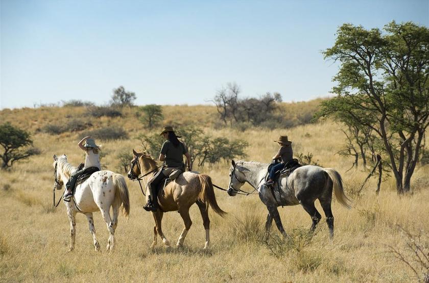 Tswalu, Afrique du Sud, safari à cheval