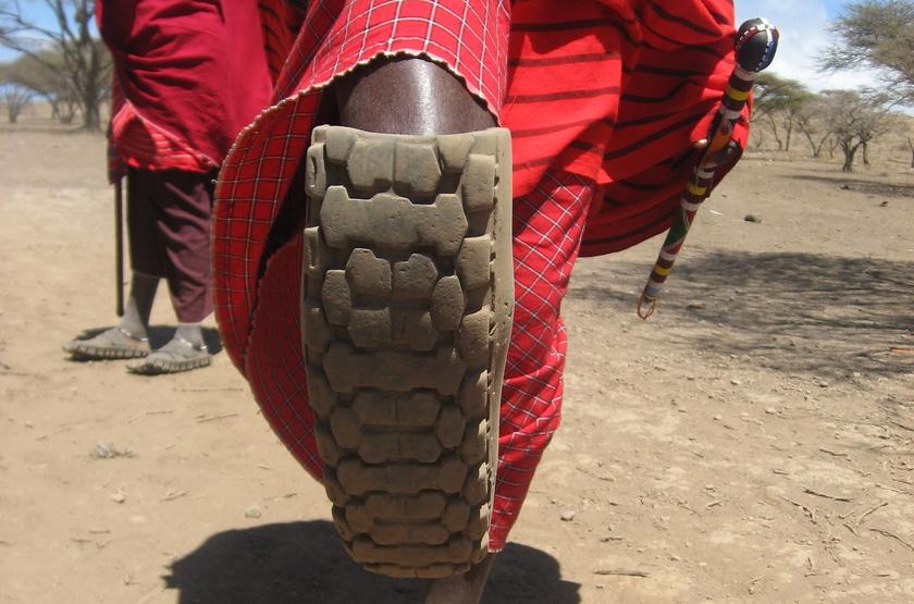 Chaussure Masai, Tanzanie