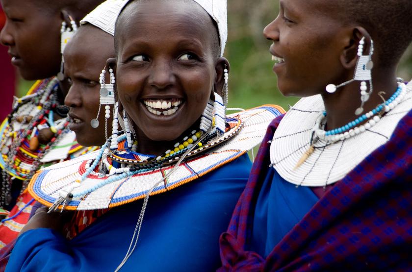 Sourire Masai, Tanzanie