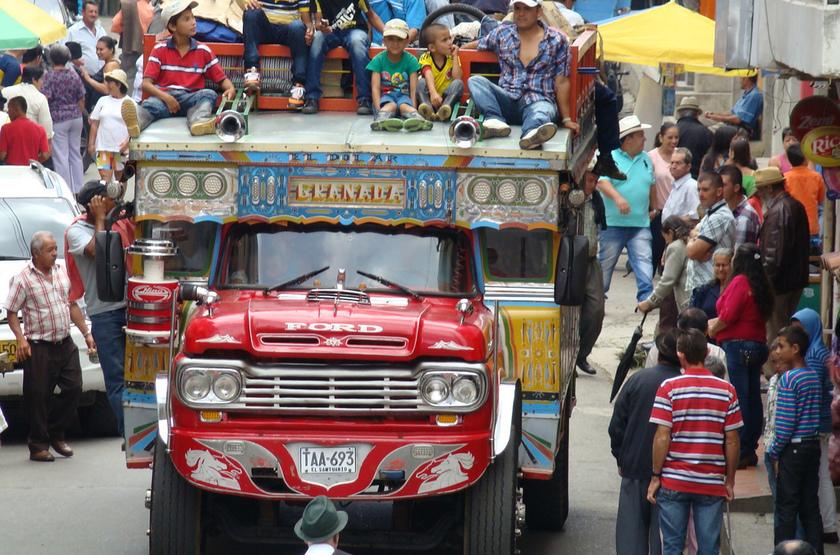 Dans les rues de Granada, Nicaragua