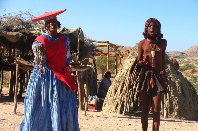 Tribu Herero, Namibie